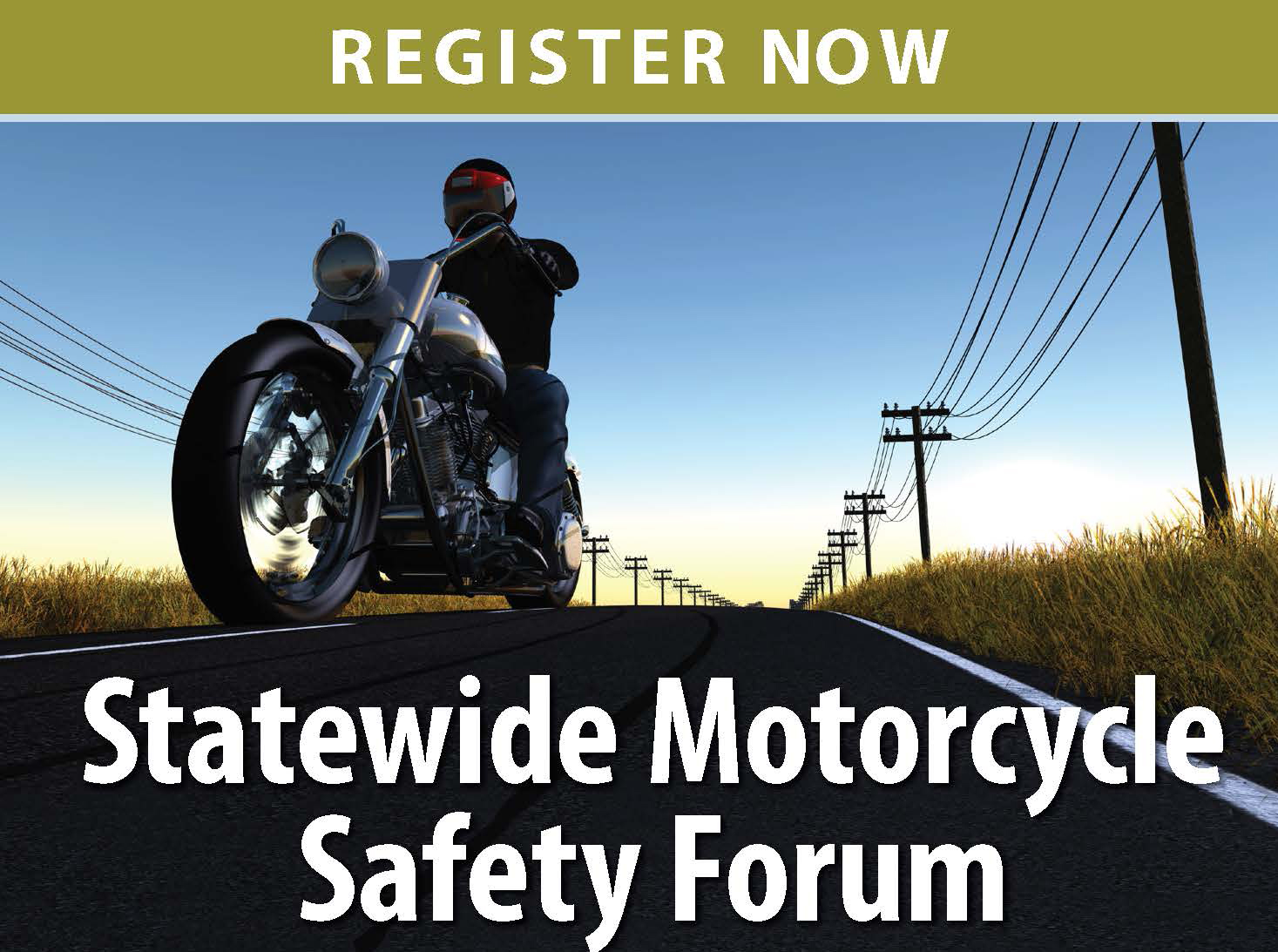 Motorcycle Safety Forum web banner